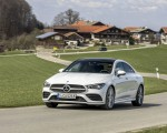 2020 Mercedes-Benz CLA 220 d Coupe AMG Line (Color: Digital White Metallic) Front Three-Quarter Wallpapers 150x120 (38)