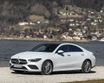2020 Mercedes-Benz CLA 220 d Coupe AMG Line (Color: Digital White Metallic) Front Three-Quarter Wallpapers 150x120 (45)
