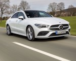 2020 Mercedes-Benz CLA 220 d Coupe AMG Line (Color: Digital White Metallic) Front Three-Quarter Wallpapers 150x120 (40)
