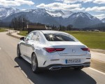 2020 Mercedes-Benz CLA 220 d Coupe AMG Line (Color: Digital White Metallic) Rear Three-Quarter Wallpapers 150x120 (42)