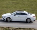 2020 Mercedes-Benz CLA 220 d Coupe AMG Line (Color: Digital White Metallic) Side Wallpapers 150x120 (43)