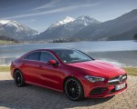 2020 Mercedes-Benz CLA 250 4MATIC Coupe AMG Line (Color: Jupiter Red) Front Three-Quarter Wallpapers 150x120 (9)