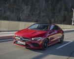 2020 Mercedes-Benz CLA 250 4MATIC Coupe AMG Line (Color: Jupiter Red) Front Three-Quarter Wallpapers 150x120 (2)
