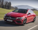 2020 Mercedes-Benz CLA 250 4MATIC Coupe AMG Line (Color: Jupiter Red) Front Three-Quarter Wallpapers 150x120 (3)