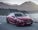 2020 Mercedes-Benz CLA 250 4MATIC Coupe AMG Line (Color: Jupiter Red) Front Three-Quarter Wallpapers 150x120 (4)