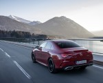 2020 Mercedes-Benz CLA 250 4MATIC Coupe AMG Line (Color: Jupiter Red) Rear Three-Quarter Wallpapers 150x120 (7)