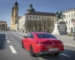 2020 Mercedes-Benz CLA 250 4MATIC Coupe AMG Line (Color: Jupiter Red) Rear Three-Quarter Wallpapers 150x120 (6)