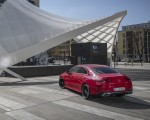 2020 Mercedes-Benz CLA 250 4MATIC Coupe AMG Line (Color: Jupiter Red) Rear Three-Quarter Wallpapers 150x120 (10)