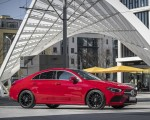 2020 Mercedes-Benz CLA 250 4MATIC Coupe AMG Line (Color: Jupiter Red) Side Wallpapers 150x120 (13)