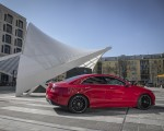 2020 Mercedes-Benz CLA 250 4MATIC Coupe AMG Line (Color: Jupiter Red) Side Wallpapers 150x120 (11)