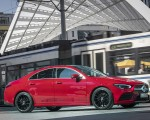 2020 Mercedes-Benz CLA 250 4MATIC Coupe AMG Line (Color: Jupiter Red) Side Wallpapers 150x120 (12)