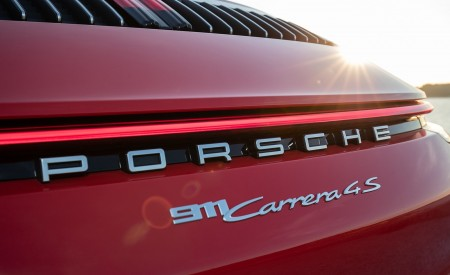 2020 Porsche 911 Carrera 4S Cabriolet (Color: India Red) Detail Wallpaper 450x275 (75)