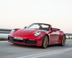 2020 Porsche 911 Carrera 4S Cabriolet (Color: India Red) Front Three-Quarter Wallpapers 150x120 (47)