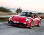 2020 Porsche 911 Carrera 4S Cabriolet (Color: India Red) Front Three-Quarter Wallpapers 150x120 (48)