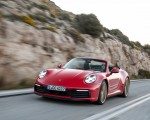 2020 Porsche 911 Carrera 4S Cabriolet (Color: India Red) Front Three-Quarter Wallpapers 150x120 (49)