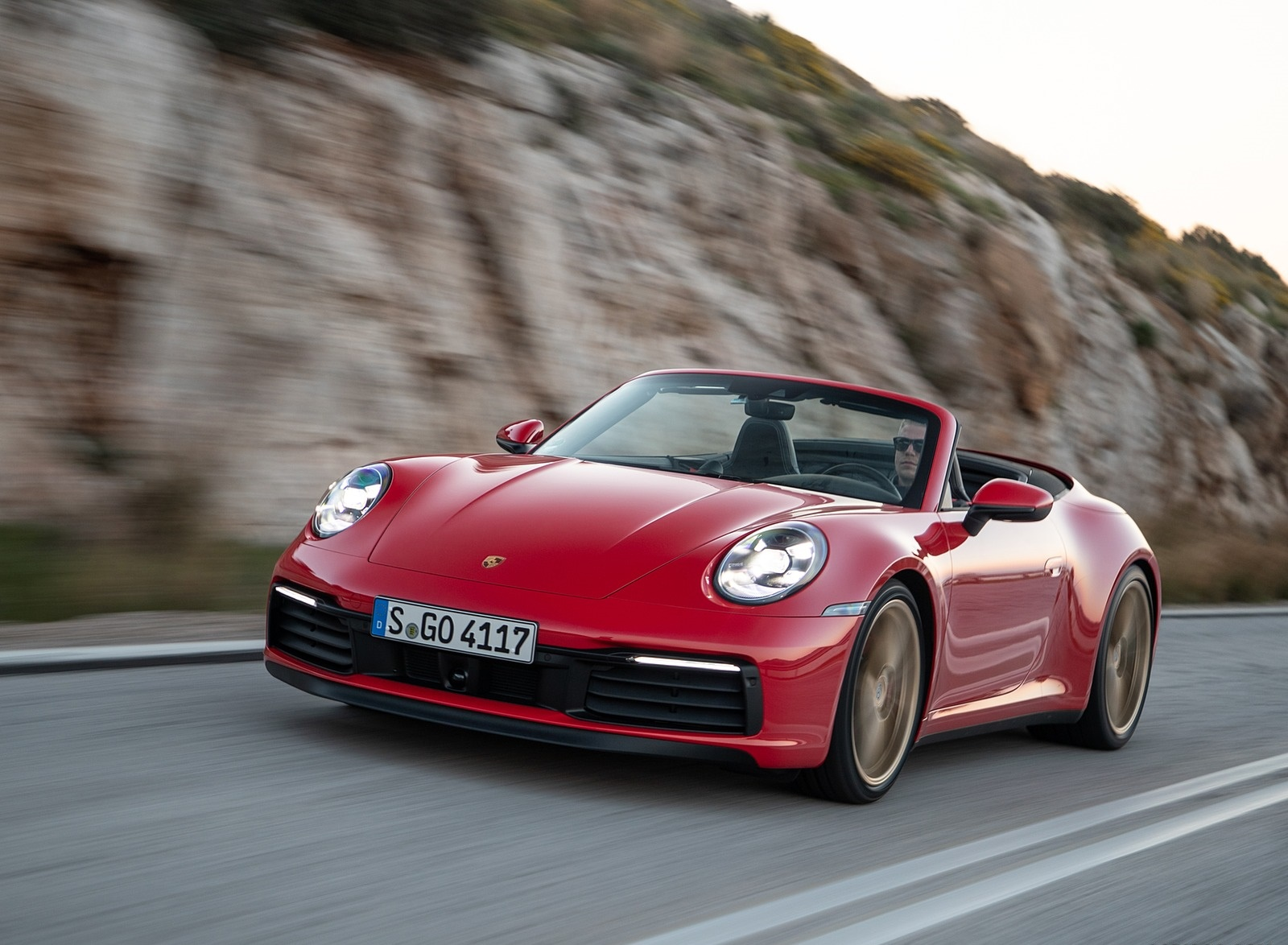 2020 Porsche 911 Carrera 4s Cabriolet Color India Red Front Three Quarter Wallpapers 52 Newcarcars