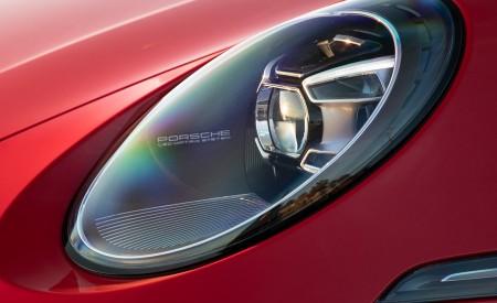 2020 Porsche 911 Carrera 4S Cabriolet (Color: India Red) Headlight Wallpaper 450x275 (73)