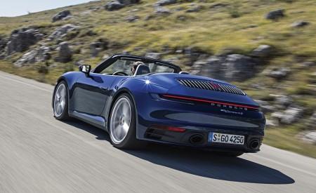 2020 Porsche 911 Carrera 4S Cabriolet Rear Three-Quarter Wallpaper 450x275 (183)