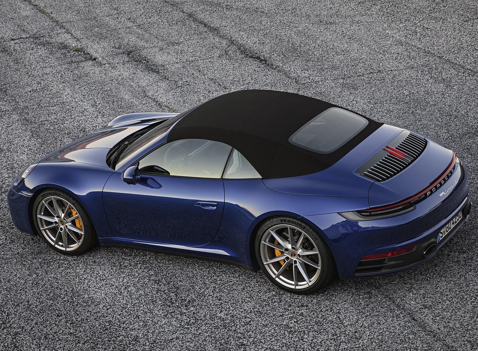 2020 Porsche 911 Carrera 4S Cabriolet Top Wallpaper (11)