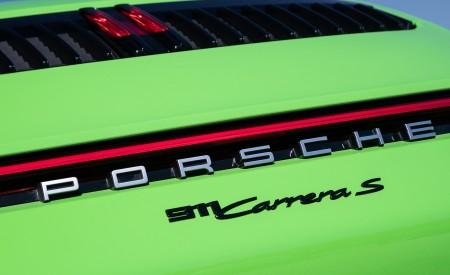 2020 Porsche 911 Carrera S Cabriolet (Color: Lizard Green) Detail Wallpaper 450x275 (33)