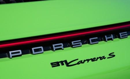 2020 Porsche 911 Carrera S Cabriolet (Color: Lizard Green) Detail Wallpaper 450x275 (34)