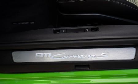 2020 Porsche 911 Carrera S Cabriolet (Color: Lizard Green) Door Sill Wallpaper 450x275 (42)