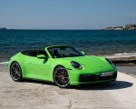 2020 Porsche 911 Carrera S Cabriolet (Color: Lizard Green) Front Three-Quarter Wallpapers 150x120 (22)