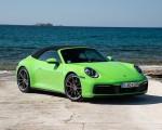 2020 Porsche 911 Carrera S Cabriolet (Color: Lizard Green) Front Three-Quarter Wallpapers 150x120 (17)