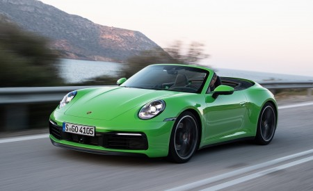 2020 Porsche 911 Carrera S And 4S Cabriolet Wallpapers HD