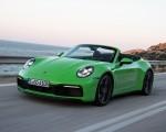 2020 Porsche 911 Carrera S Cabriolet (Color: Lizard Green) Front Three-Quarter Wallpapers 150x120 (2)