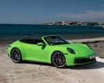 2020 Porsche 911 Carrera S Cabriolet (Color: Lizard Green) Front Three-Quarter Wallpapers 150x120 (19)