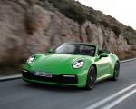 2020 Porsche 911 Carrera S Cabriolet (Color: Lizard Green) Front Three-Quarter Wallpapers 150x120 (7)