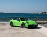 2020 Porsche 911 Carrera S Cabriolet (Color: Lizard Green) Front Three-Quarter Wallpapers 150x120 (20)