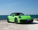 2020 Porsche 911 Carrera S Cabriolet (Color: Lizard Green) Front Three-Quarter Wallpapers 150x120 (21)