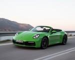2020 Porsche 911 Carrera S Cabriolet (Color: Lizard Green) Front Three-Quarter Wallpapers 150x120 (3)