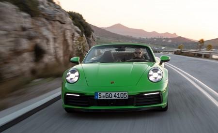 2020 Porsche 911 Carrera S Cabriolet (Color: Lizard Green) Front Wallpaper 450x275 (10)