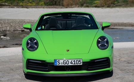 2020 Porsche 911 Carrera S Cabriolet (Color: Lizard Green) Front Wallpaper 450x275 (23)