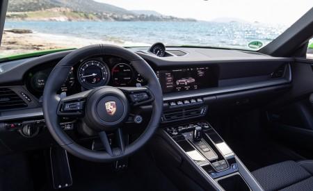 2020 Porsche 911 Carrera S Cabriolet (Color: Lizard Green) Interior Cockpit Wallpaper 450x275 (45)