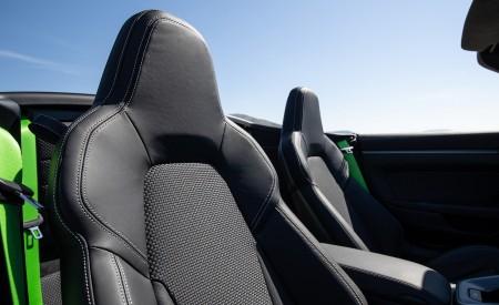 2020 Porsche 911 Carrera S Cabriolet (Color: Lizard Green) Interior Seats Wallpaper 450x275 (40)