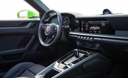 2020 Porsche 911 Carrera S Cabriolet (Color: Lizard Green) Interior Wallpaper 450x275 (44)
