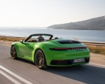 2020 Porsche 911 Carrera S Cabriolet (Color: Lizard Green) Rear Three-Quarter Wallpapers 150x120 (4)