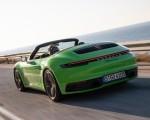2020 Porsche 911 Carrera S Cabriolet (Color: Lizard Green) Rear Three-Quarter Wallpapers 150x120 (5)