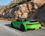 2020 Porsche 911 Carrera S Cabriolet (Color: Lizard Green) Rear Three-Quarter Wallpapers 150x120 (12)