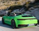 2020 Porsche 911 Carrera S Cabriolet (Color: Lizard Green) Rear Three-Quarter Wallpapers 150x120 (13)