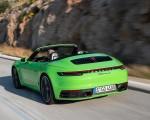 2020 Porsche 911 Carrera S Cabriolet (Color: Lizard Green) Rear Three-Quarter Wallpapers 150x120 (14)