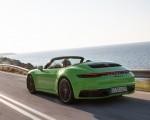 2020 Porsche 911 Carrera S Cabriolet (Color: Lizard Green) Rear Three-Quarter Wallpapers 150x120 (6)
