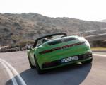 2020 Porsche 911 Carrera S Cabriolet (Color: Lizard Green) Rear Wallpapers 150x120 (16)