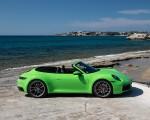 2020 Porsche 911 Carrera S Cabriolet (Color: Lizard Green) Side Wallpapers 150x120 (32)