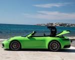 2020 Porsche 911 Carrera S Cabriolet (Color: Lizard Green) Side Wallpapers 150x120 (25)