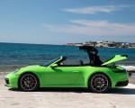 2020 Porsche 911 Carrera S Cabriolet (Color: Lizard Green) Side Wallpapers 150x120 (26)